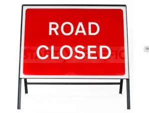 Road Closure - Orlingbury Road, 24th March - Off Peak Times